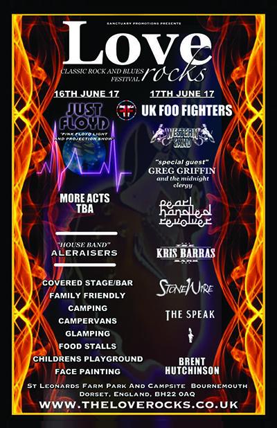 Loverocks 2017 Classic Rock and Blues Festival